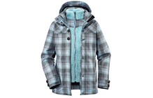 VAUDE Women's Yale 3in1 Jacket III aquamarine